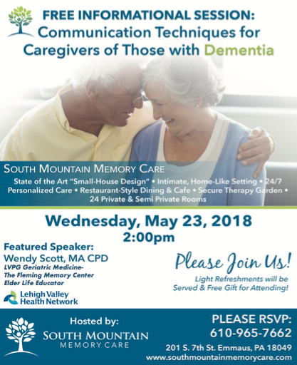 Communication Techniques for Caregivers of Those with Dementia